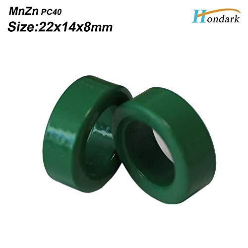 Maslin Inner 14mm 0.55''Inductor ferrite core 22X14X8mm RF Choke ferrite Bead Electronics EMI Filter ferrite Ring,300pcs/lot