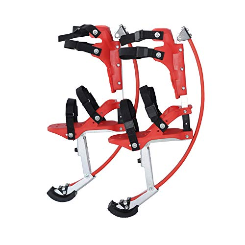 - MLyzhe Rebound Jumping Stilts Shoes Fitness Bounce Shoe for Kids Child Youth Weight Load Range 30-50Kg,Red