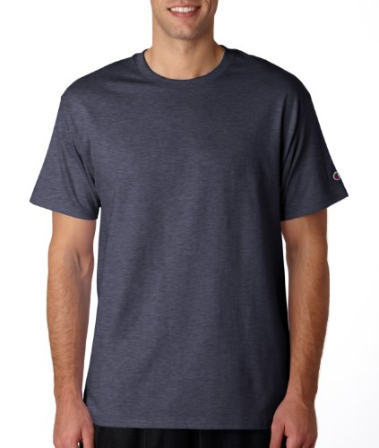 Champion - T-shirt - Uomo Charcoal Heather