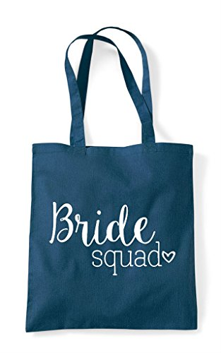 Bride Petrol Shopper Tote Bag Squad RHwOP