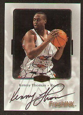 - Kenny Thomas signed autograph auto 2000 Fleer FreshINK