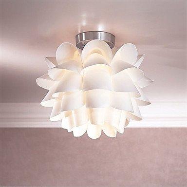 Lámpara de techo de Lotus blanco moderno Candelabro creativo ...