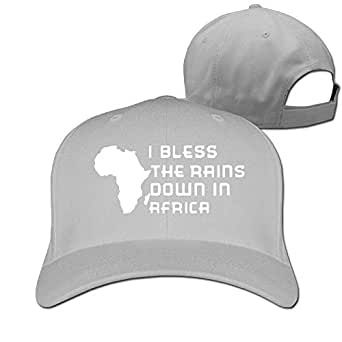 I Bless The Rains Down in Africa Unisex Pure Color ...