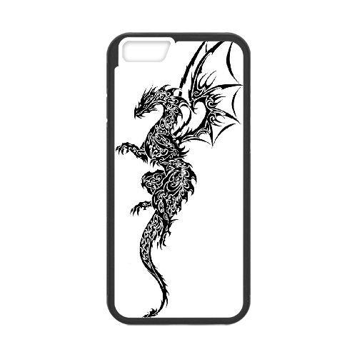 Dragon Tribal 005 coque iPhone 6 4.7 Inch Housse téléphone Noir de couverture de cas coque EOKXLLNCD19630