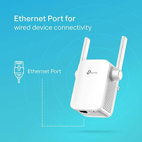 TPLink  N300 WiFi Range Extender  Up to 300Mbps  WiFi Extender Repeater Wifi Signal Booster Access