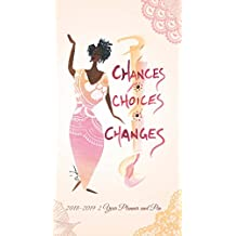 Shades of Color 2018-2019 African American Two Year Checkbook Planner: Chances, Choices, Changes (C136)