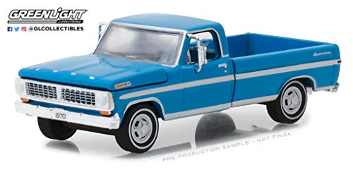 Greenlight 29967 1:64 1970 F-100 Explorer Special, Grabber Blue