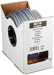 Master Plumber 7003ptv Clear Vinyl Tubing 14-inch Id X 38-inch Od X 100-feet