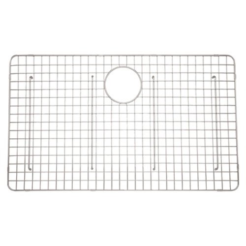 Rohl WSGRSS3018SS Wsgrss3018 Wire Basin Rack for Rss3018 Kitchen Sink, Stainless ()