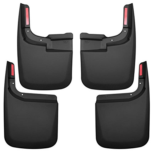 Husky Liners Mud Guards - Custom Molded Front And Rear (58466)