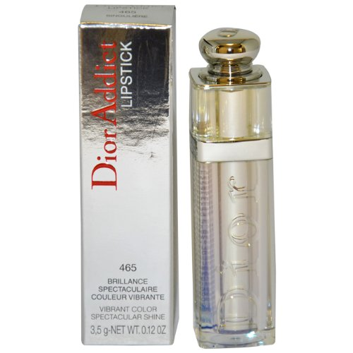 - Christian Dior Addict High Impact Weightless Lipcolor, No. 465 Singuliere, 0.12 Ounce