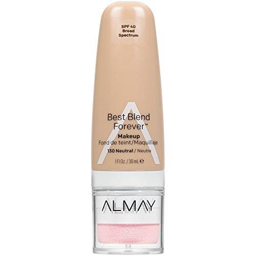 Almay Best Blend Forever Makeup, #130 Neutral, 1 fl oz (Pack of 2) (Almay Best Blend Forever Makeup)
