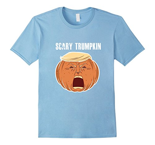 Mens Scary Trumpkin Trick Or Treat Halloween TShirt For Men Women 2XL Baby (Homemade Halloween Treats For Babies)