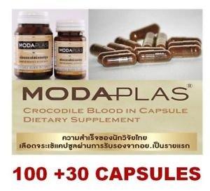 Crocodile Blood in Capsule Modaplas 100 +30 Capsules