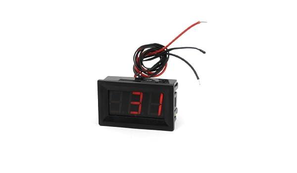 Amazon.com: Pantalla LCD DE 3 dígitos Termómetro Digital -30C a 70C Rojo: Health & Personal Care