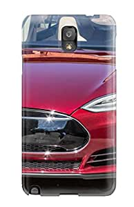 New Snap On Galaxy Skin Case Cover Compatible With Galaxy Note 3 Tesla Model S 13