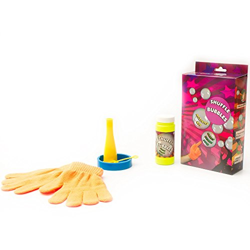 Fun Central AU218 1 Kit Bubble Games for Family Fun- Includes: Bubble Tray, Bubble Solution, Bubble Blower, Normal Bubble Wand and Magic Bubble Gloves