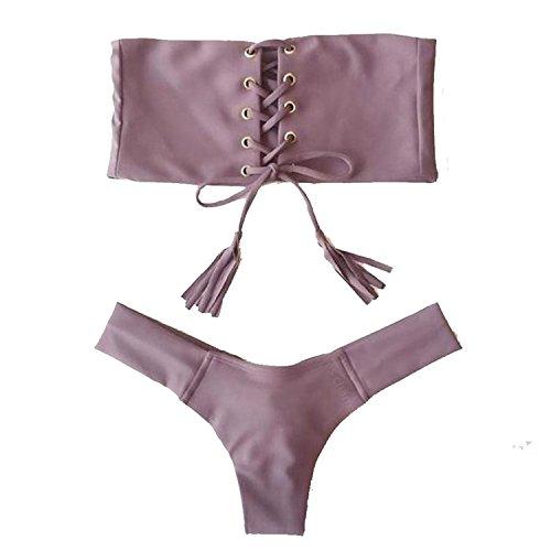 Tie Thong Bikini - 8