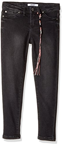 - DKNY Girls' Little Skinny Fit Jean (More Styles Available), 1069DG Black, 5