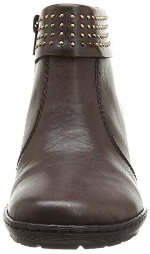 Rieker 57150-26, Women's Boots Brown (Teak/Teak/26)