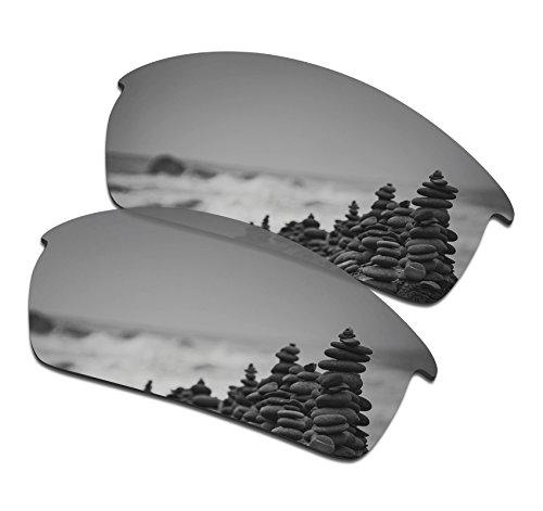 SmartVLT Men's Silver Titanium Replacement Lenses for Oakley Bottlecap - Oakley Lenses Cap Bottle
