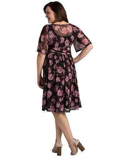 Kiyonna Women\'s Plus Size Katarina Mesh Dress