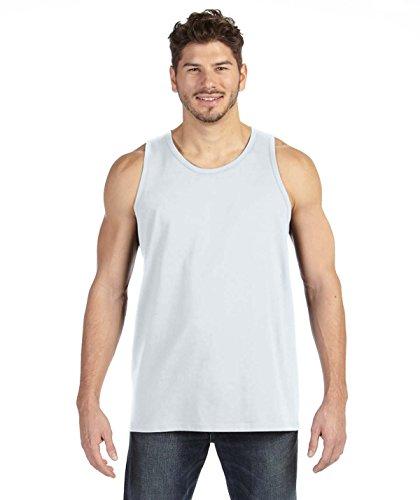 Anvil Lightweight Fashion Tank, XL, White (Top Mens Anvil Tank)