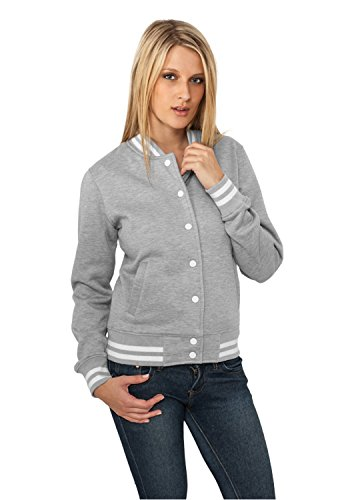 College Urban Dames Sweatjacket TB216 Grey Classics TqEqwHOz
