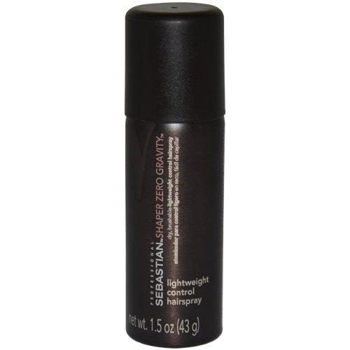 Professional Shaper Zero Gravity Hair Spray by Sebastian, 1.5 Ounce