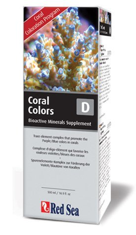 Red Sea Fish Pharm Are22073 Reef Colors Bioactive Minerals Supplement D For Aquarium  500Ml