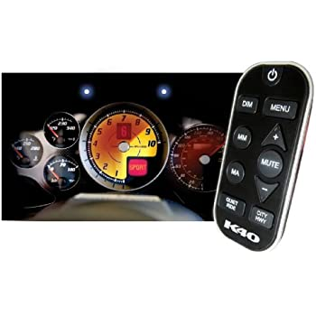K40 Electronics RL360i Dual Remote Radar With