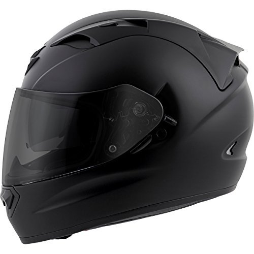 (Scorpion EXO-T1200 Solid Street Motorcycle Helmet (Matte Black, Large))
