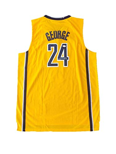 Paul George Indiana Pacers Alternate Autographed Signed Memorabilia Jersey JSA (Jersey Alternate Pacers)