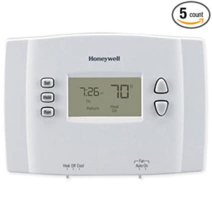 Honeywell 1 Week Programmable Thermostat, 5 Packages