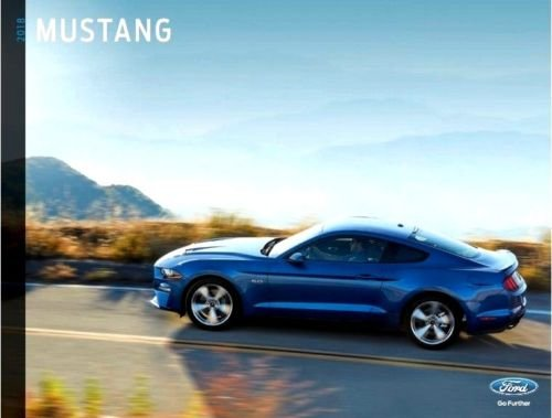 - 2018 Ford Mustang GT 24-page Sales Brochure Catalog - Convertible GT-350 Shelby