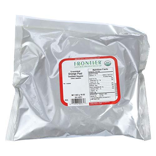 - Frontier Natural Products 261 Orange Peel Granules Organic
