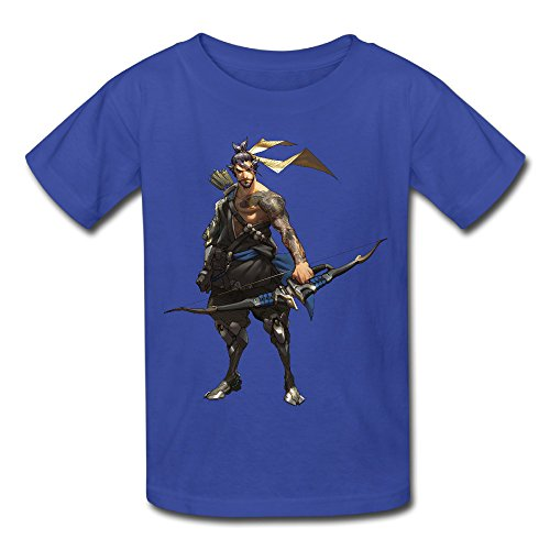 Price comparison product image Omahaer Overwatch Child Tee-shirt 100% Cotton Best