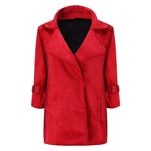 Donna Outerwear 4 Invernali Manica Vintage Autunno Colore Jacket Mode Stile Modern Rot Outwear 3 Giacche Eleganti Di Puro Giacca Marca Giubbino Bolawoo gwxZtqXdg