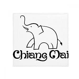 DIYthinker Tailandia Elefante fácil Shield Antideslizante Alfombra Pet Square baño salón Cocina Puerta 60/50cm Regalo