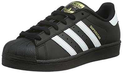 Adidas Superstar Foundation, Zapatillas Unisex Infantil, Multicolor (Core Black/Ftwr White/Core Black), 35.5 EU