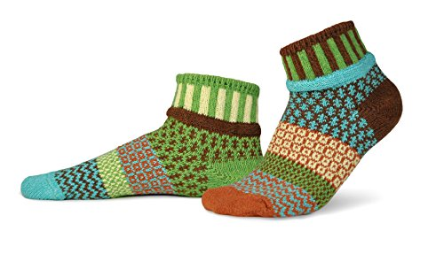Solmate Socks Mismatched Ankle Socks Trillium - Calgary Shopping Outlet