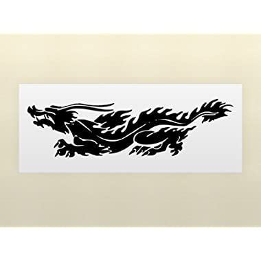 Vinyl Wall Art Decal Sticker Chinese Dragon 60 x17  5ft Long #230A