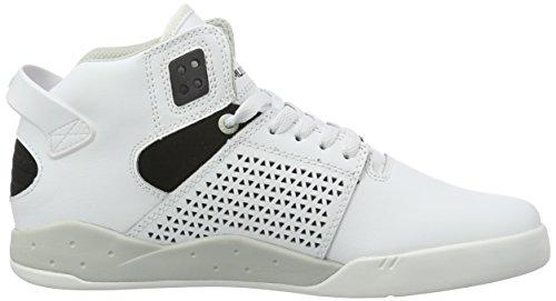 Supra Herren Skytop III Schuhe Weiß / Schwarz / Weiß