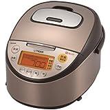 タイガー IH炊飯器 「炊きたて」 5.5合 tacook ブラウン JKT-S100T