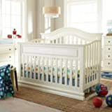 Full Size Conversion Kit Bed Rails for Savanna Baby Tori Cribs by Modus Furniture from JCPenney - Cream