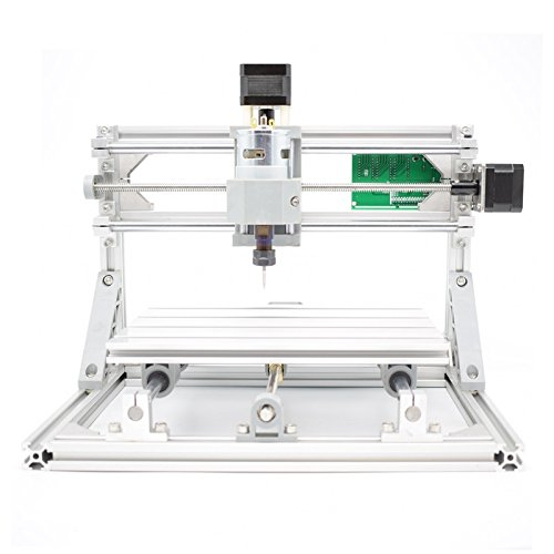 2-in-1 DIY Laser CNC Kit: 24x18cm 3 Axis CNC Router + 500mw Laser Engraver - PCB Milling, Wood Carving, Engraving Machine, with ER11