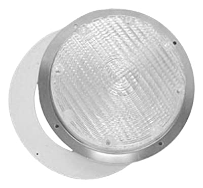"""Fasteners Unlimited 89-257 8.75"""" Clear Lens for Security Light"""