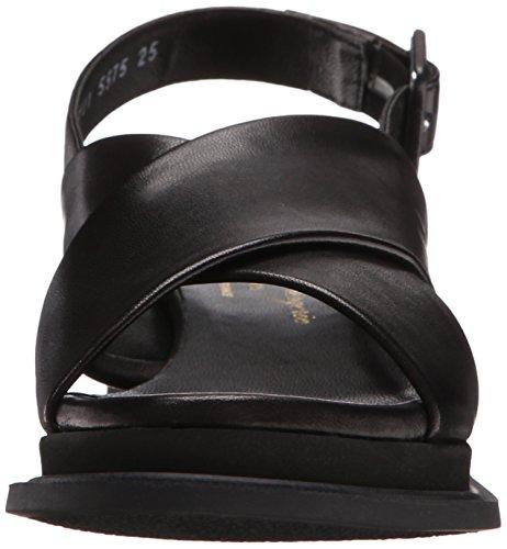 Calientek Noir Negro vestir Clergerie Mujer Noir Sandalias Robert de 1132 wv5Ovx