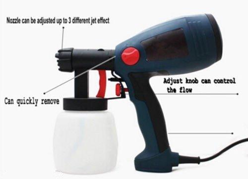 300W 220V/50HZ Electric Paint Sprayer / Electrically Operated Paint Spray Gun Tool / Electric Painting Equipment (220V)
