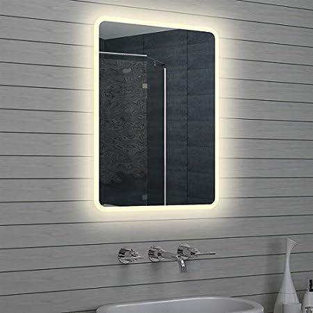 Specchio Bagno 60 X 60.Lux Aqua Design Led Specchio Da Bagno Luce Specchio Da Parete